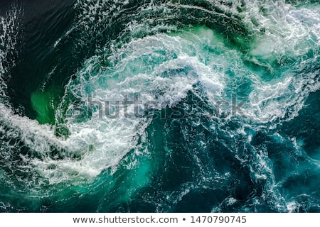 Turbulent waves during a storm Stock photo © jrstock