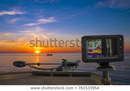 navigatie · draagbaar · gps · satelliet · geïsoleerd - stockfoto © suljo