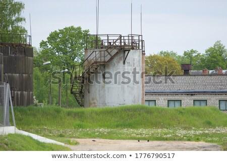 очистительный · завод · хранения · газ · объект · структуры · аннотация - Сток-фото © lunamarina
