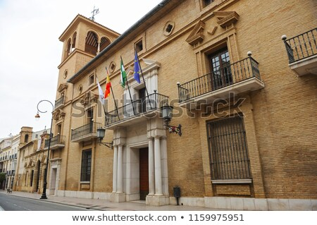 малага город зале Испания мнение замок Сток-фото © BigKnell