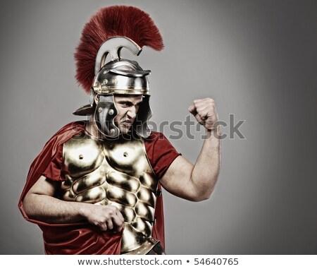 soldaat · klaar · oorlog · man · persoon · militaire - stockfoto © nejron