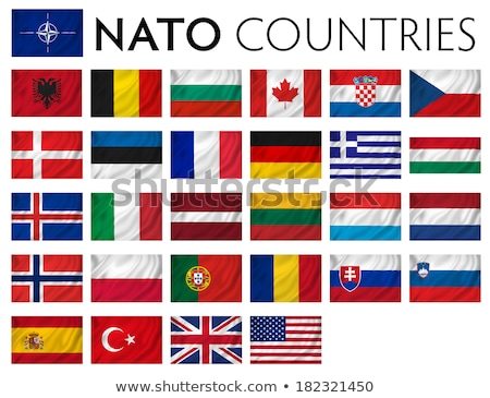 トルコ · ハンガリー · フラグ · パズル · 孤立した · 白 - ストックフォト © mayboro