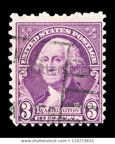 Vintage 1932 Postage Stamp With George Washington Сток-фото © Taigi
