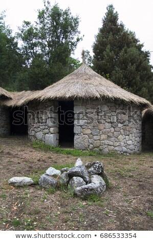 Iron Age Round House Stock photo © smartin69