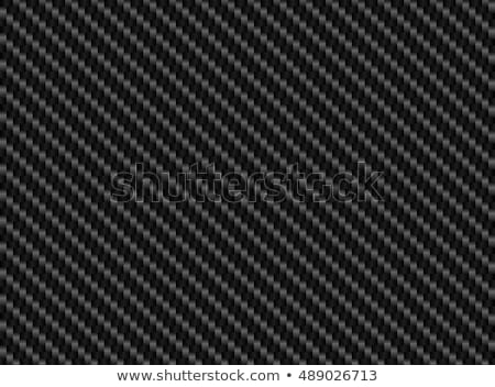 Kohlefaser Bild Stoff Muster starken Stock foto © idesign