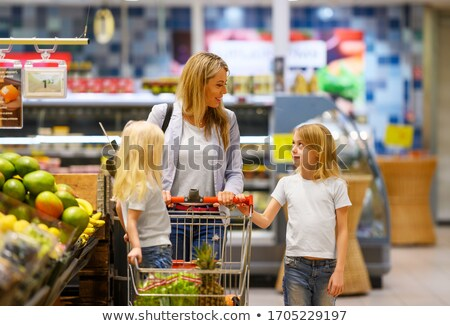 mother child mart Stock photo © Paha_L