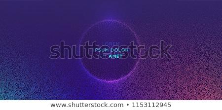 Abstrato 3D partículas eps 10 Foto stock © netkov1