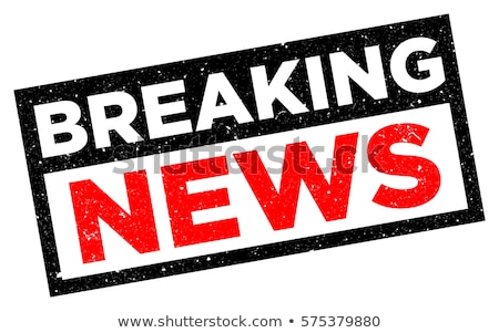 Red stamp on a white background - Breaking News Stock photo © Zerbor