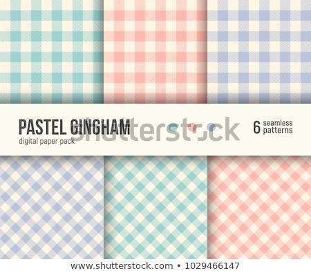 rouge · à · carreaux · toile · texture · cadre · wallpaper - photo stock © oakozhan