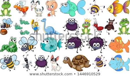 monster turtle vector illustration clip art image stock photo © vectorworks51