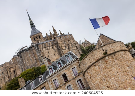 Detail of famous historic Le Mont Saint-Michel Normandy,France Stock photo © CaptureLight
