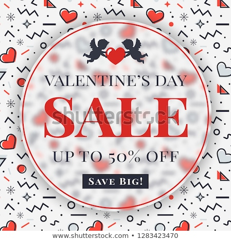 valentijnsdag · kaart · kleurrijk · hart · mooie - stockfoto © saicle