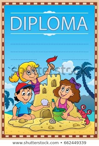 Diploma subject image 7 Stock photo © clairev