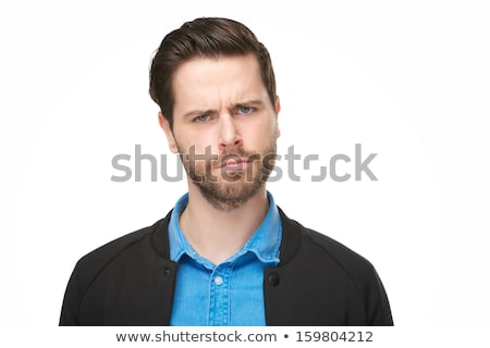 Close up of confused man Stock photo © wavebreak_media