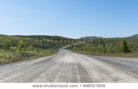 empty toll road from ulnes in Norway Stock photo © compuinfoto