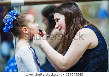 Menina traje compensar diversão cor jovem Foto stock © IS2