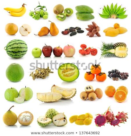 Owoców odizolowany biały Tajlandia tle asian Zdjęcia stock © smuay
