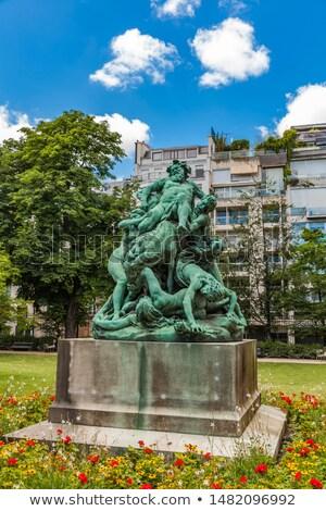 Standbeeld Luxemburg tuinen Parijs Frankrijk gebouw Stockfoto © boggy