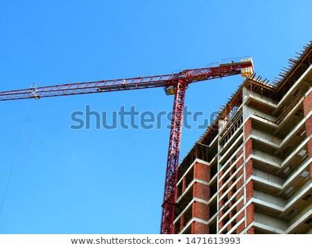 строительство текста красный цифровой композитный заседание синий Сток-фото © wavebreak_media