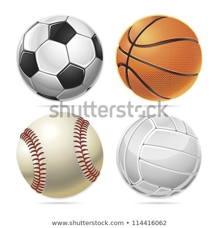 Grupy sprzęt sportowy zwycięzca piłka nożna baseball zabawy Zdjęcia stock © JanPietruszka
