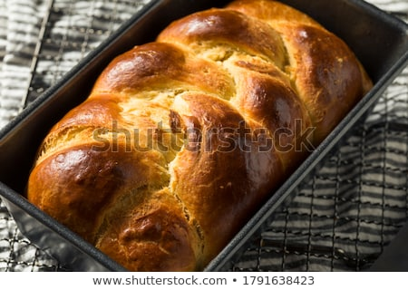 Sweet homemade braided yeast bread  Stock photo © grafvision