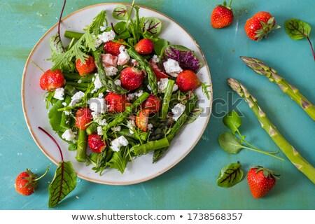 asparagus salad stock photo © val_th