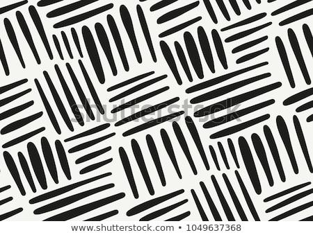 Vecteur grunge modèle blanc noir organique Photo stock © samolevsky