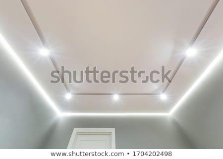 Halogén lámpák három fény szürke élet Stock fotó © ruigsantos