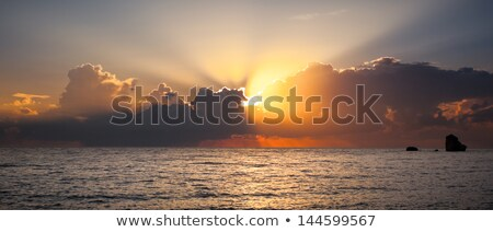 Sunrise after the storm Stock photo © wildnerdpix