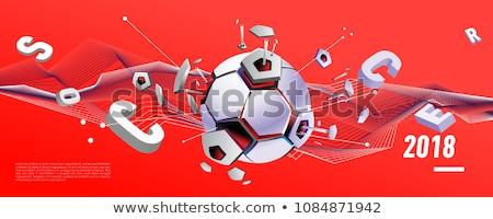 abstract football banner Stock photo © pathakdesigner