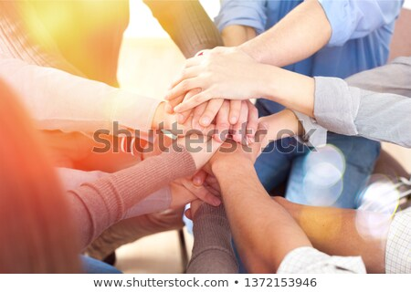 Business team stood in a circle Stock photo © photography33