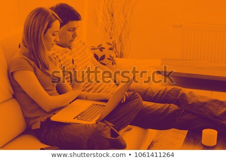 Business duo working together Stock photo © photography33