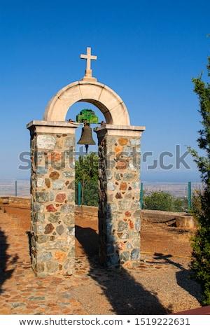 Ortodoxo mosteiro Chipre aldeia parede jesus Foto stock © mahout