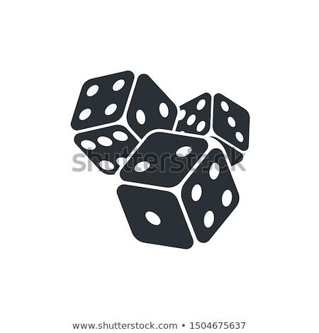 3  サイコロ ゲーム 緑 表 スポーツ ストックフォト © Roka