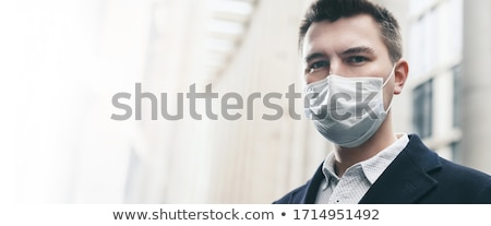 business man defends himself Stock photo © feedough
