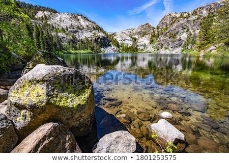 eagle lake stock photo © ca2hill