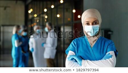 portré · orvosi · csapat · nő · mosoly · orvos - stock fotó © photography33