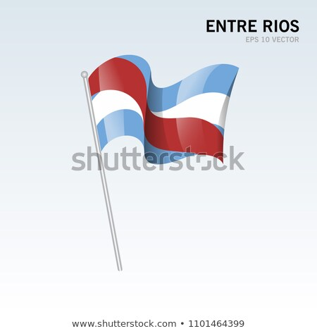 argentín · zászló · Buenos · Aires · ház · épület · város - stock fotó © joggi2002