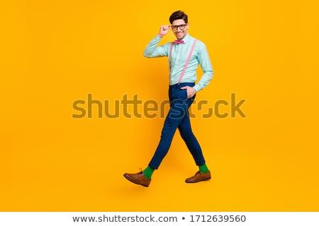 Handsome stylish guy with fashionable girlfriend Stock photo © konradbak