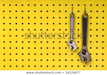 Dois chaves amarelo par metal juntos Foto stock © Habman_18