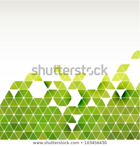 Résumé vert cadre vecteur eps Photo stock © OlgaDrozd