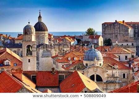 Dubrovnik cidade velha ver cidade parede verão Foto stock © Hochwander