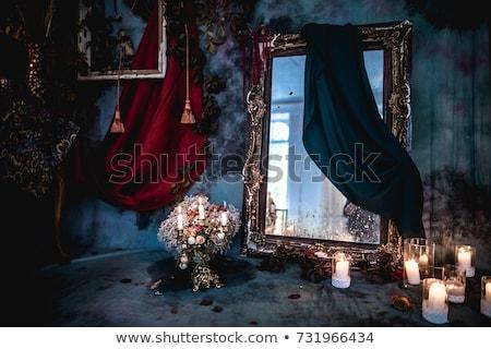 Real mobiliário luxo barroco interior parede Foto stock © vizarch