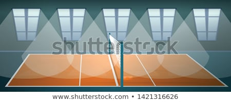 Volleyball sol balle sport design formation Photo stock © stockshoppe