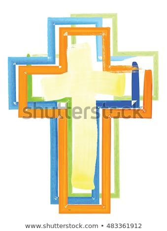 Salvation Colors Cross Stock photo © rghenry