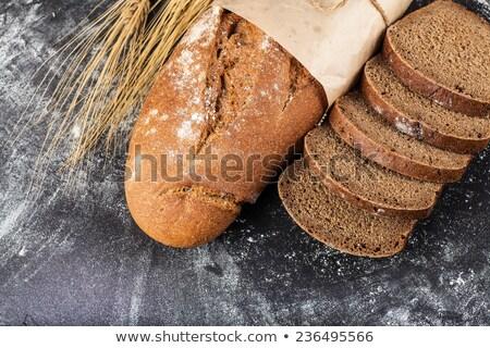 хлеб набирать номер темно мучной продовольствие Сток-фото © OleksandrO