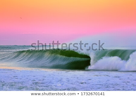 zee · zonsondergang · rodeo · strand · Californië · USA - stockfoto © backyard-photography
