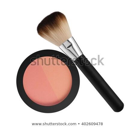 face rouge isolated on white background Stock photo © tetkoren