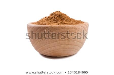 мнение чаши органический мускатный орех семени Сток-фото © ziprashantzi