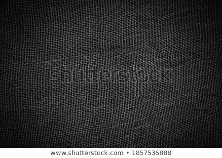 Black woven canvas Stock photo © blasbike